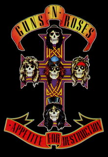 Guns N Roses Appetite for destruction (2012)