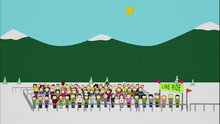 South Park: The Line Ride