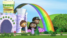 Super Why!: The Stars in the Sky (The Ghost Who Was Afraid of Halloween & Other Stories)