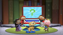Super Why!: Baby Dino's Big Discovery (King Eddie Who Loved Spaghetti & Other Stories)