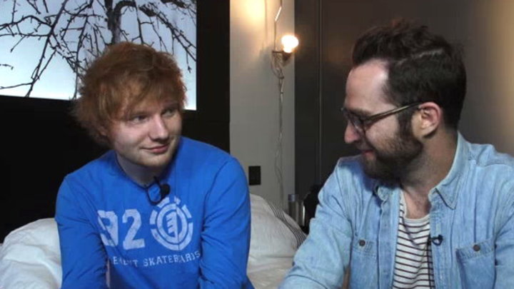 MTV News - Ed Sheeran Hits the Road With Taylor Swift
