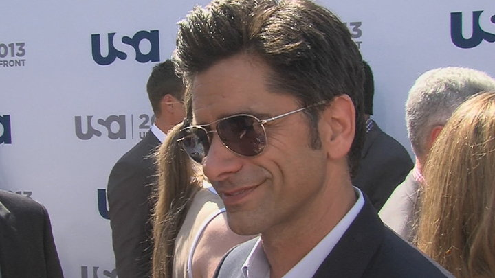Access Hollywood - John Stamos Joins 'Necessary Roughness'