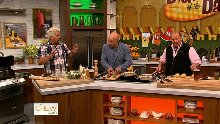 The Chew - Guy Fieri Gets Grilling, Part 2
