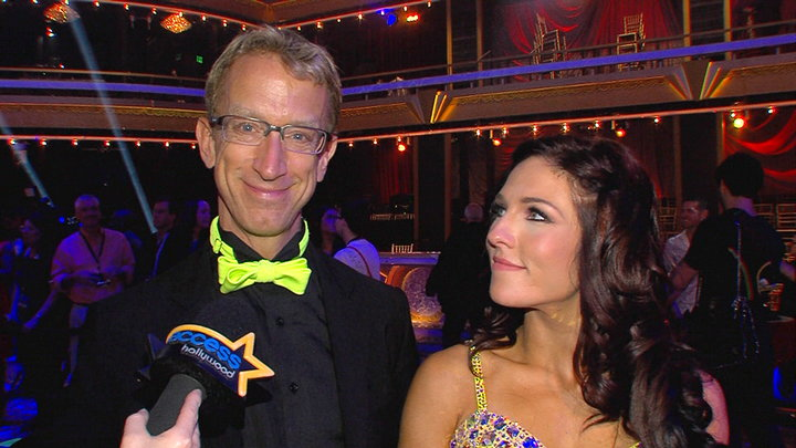 Access Hollywood - Andy Dick: I Loved Putting My Dancing Shoes On Again!