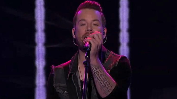 American Idol - David Cook Performs Laying Me Low