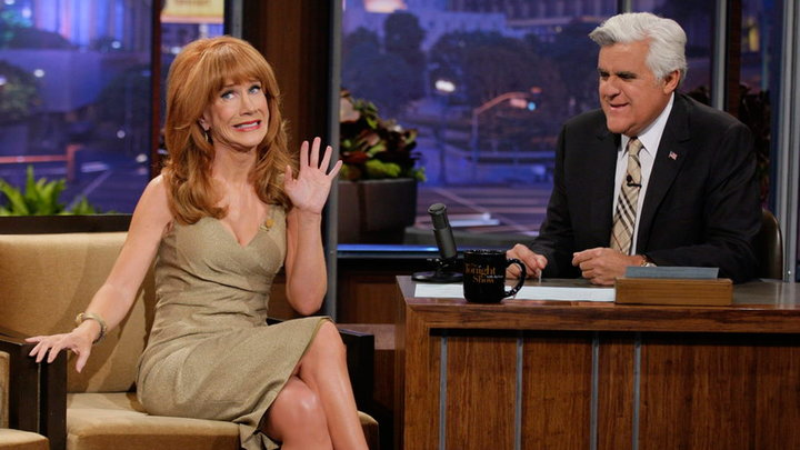 The Tonight Show with Jay Leno - Kathy Griffin On Awkward Kris Jenner Moment
