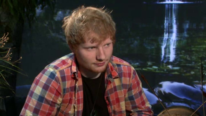 MTV News - Ed Sheeran Gets Album Advice from Pal Taylor Swift