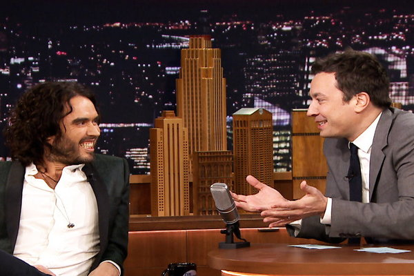 The Tonight Show Starring Jimmy Fallon: Word Sneak With Russell Brand